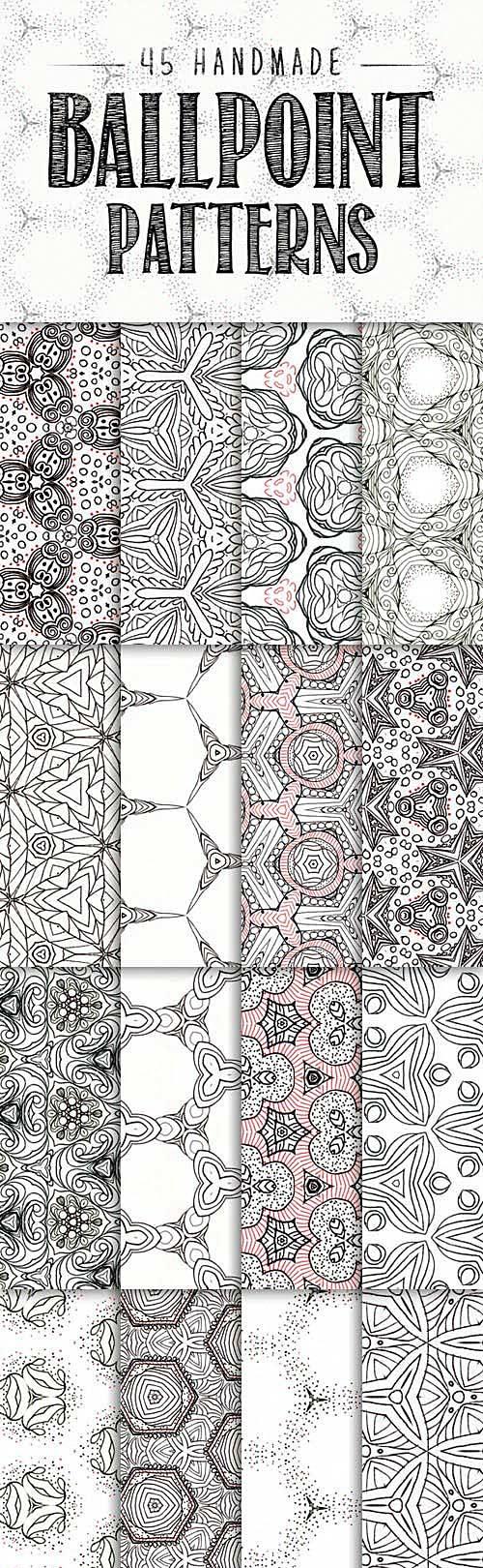 دانلود رایگان تکسچرمتریال کاغذ دیواری تری دی مکس ویری 3ds max Ballpoint Patterns
