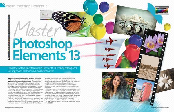 دانلود رایگان مجله آموزش فتوشاپ The Photoshop Elements Book Vol. 2 Revised Edition 2015