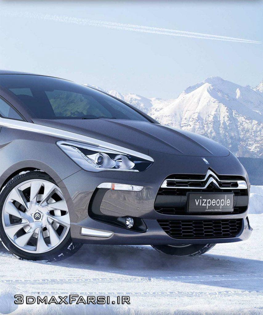 دانلود رایگان آبجکت مدل سه بعدی ماشین مدرن جدید کیفیت بالا ویری VizPeople 3D Cars V1