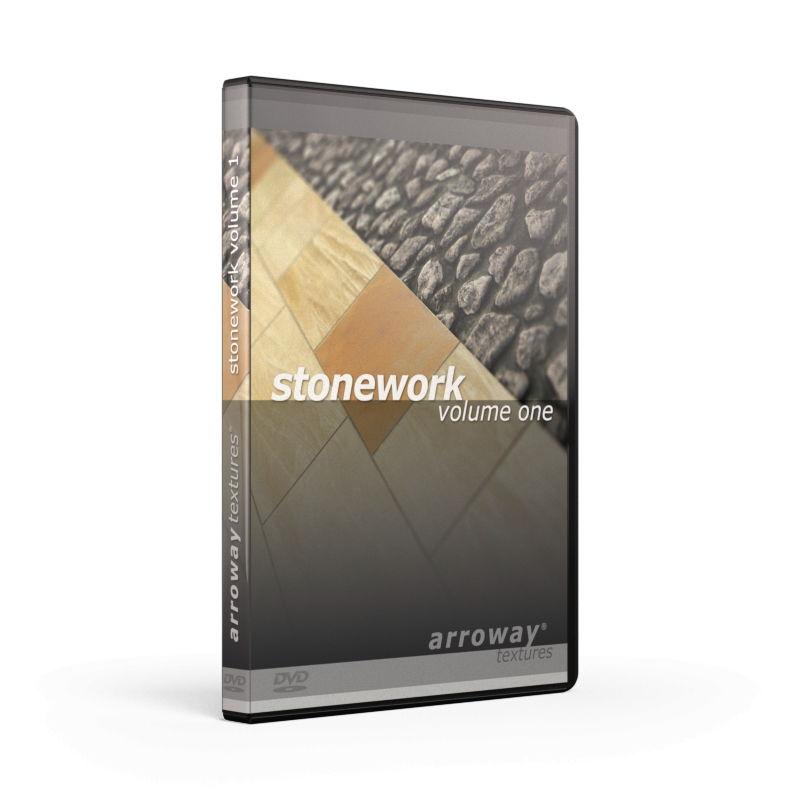 دانلود رایگان مجموعه متریال معماری تری دی مکس ویری Arroway Stonework Textures Volume One