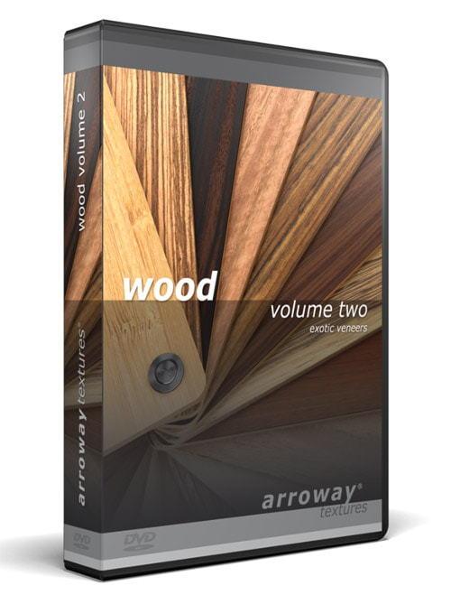 دانلود رایگان مجموعه متریال معماری تری دی مکس ویری Arroway - Wood Vol 2