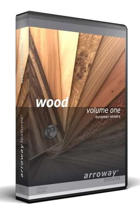 دانلود رایگان مجموعه متریال معماری تری دی مکس ویری Arroway - Wood Vol.1