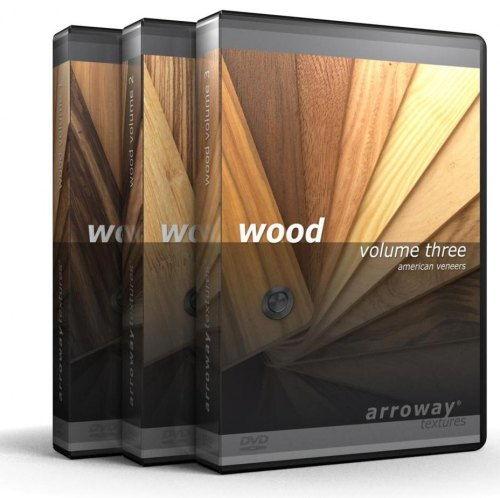 دانلود رایگان مجموعه متریال معماری تری دی مکس ویری Arroway - Wood Vol 3