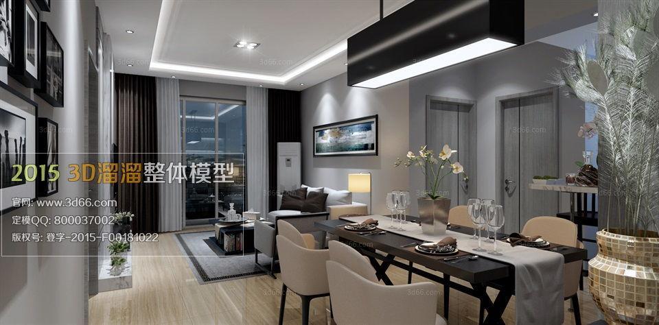 دانلود رایگان مدل سه بعدی آشپزخانه و رستوران مدرن برای 3ds max vray