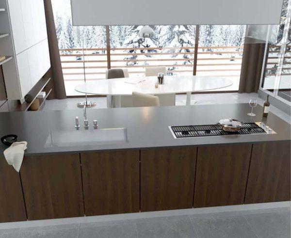 دانلود رایگان صحنه آماده آشپزخانه سبک تری دی اسکای : کرونا تری دی مکس وی ری 3ds max Vray