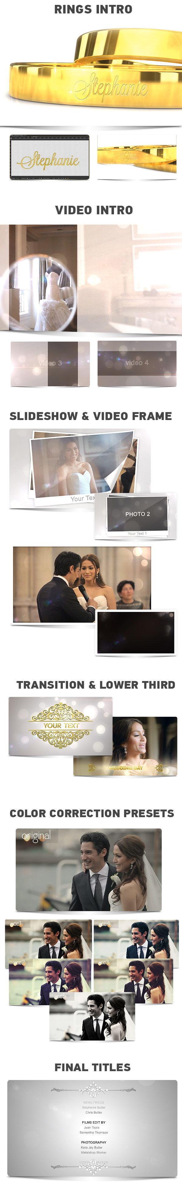 دانلود مجموعه پروژه آماده افترافکت فیلم عروسی Videohive Wedding Mega Pack Collection