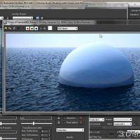 آموزش کامل آموزش شبیه سازی آب دریا تری دی مکس ریل فلو هودینی 3ds max Realflow Houdini