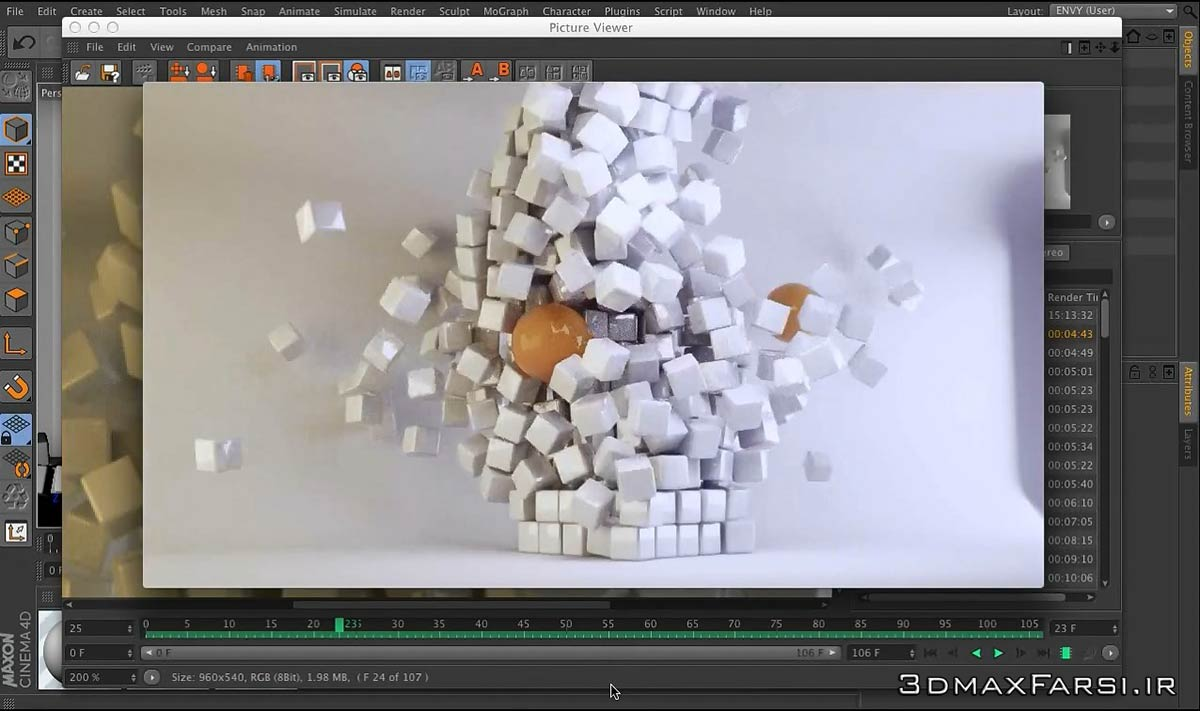 C4D VRay Animation – From the Ground Up