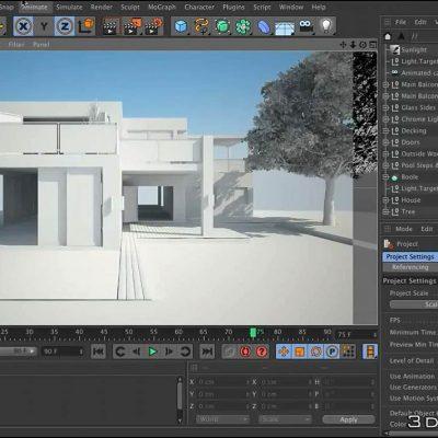 آموزش انیمیشن سازی ویری سینمافوردی C4D VRay Animation
