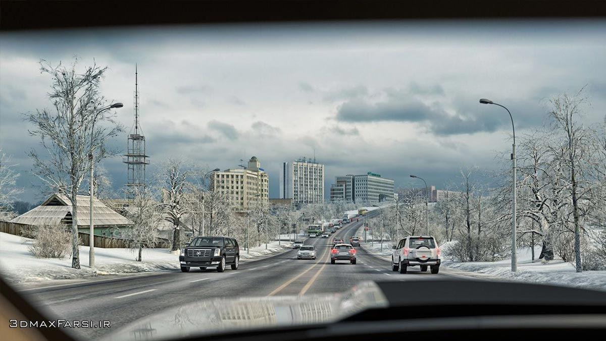 دانلود آموزش پلاگین هوشمند شبیه سازی ترافیک شهری CityTraffic