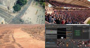 دانلود پلاگین شبیه ساز جمعیت مایا Golaem Crowd maya plugin کاراکتر انسان انیمیشن سازی