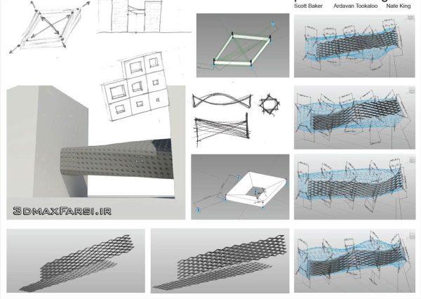 آموزش مدلسازی معماری رویت مس Massing Revit tools