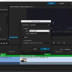 دانلود آموزش ساخت ویدئو پروداکشن ادوبی پریمیرAdobe Prelude - Premiere Pro