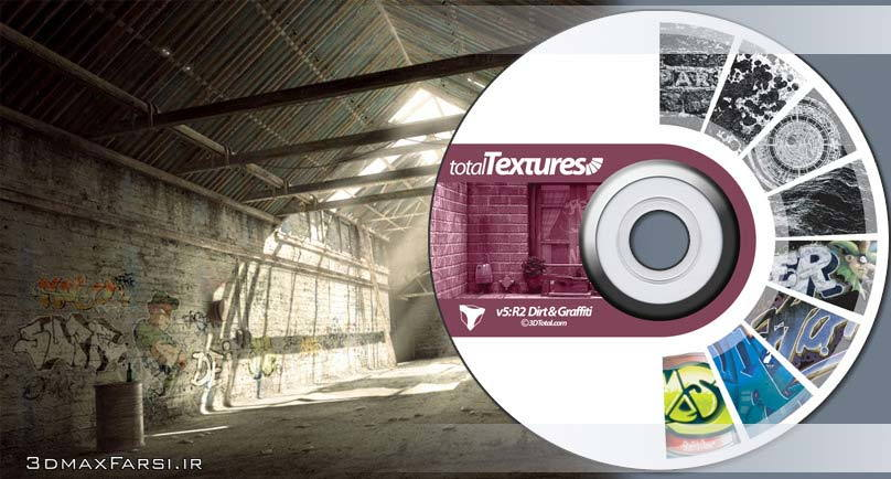 Download Total Textures V05R2 - Dirt & Graffiti