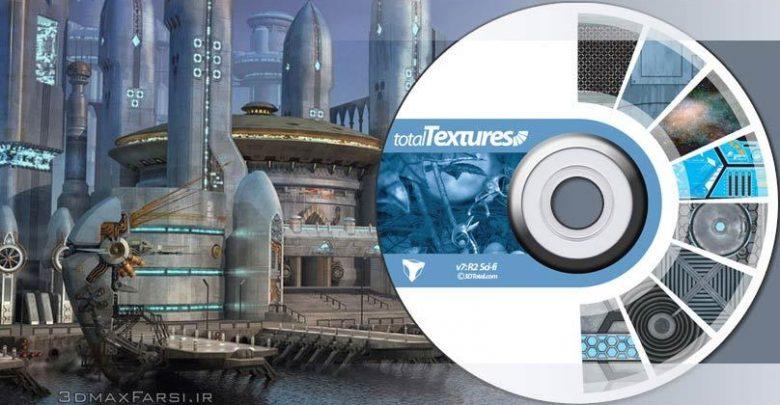 دانلود متریال تکسچر فلز آلومینیوم مس فولاد Total Textures V07:R2 - Sci-fi