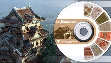 دانلود تکسچر متریال بنای تاریخی سنتی قدیمی Total Textures V09:R2 - Ancient Tribes & Civilizations