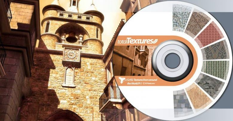 دانلود رایگان پکیج متریال معماری کشورهای مختلف جهان Total Textures V12:R2 - Textures from around the World 1