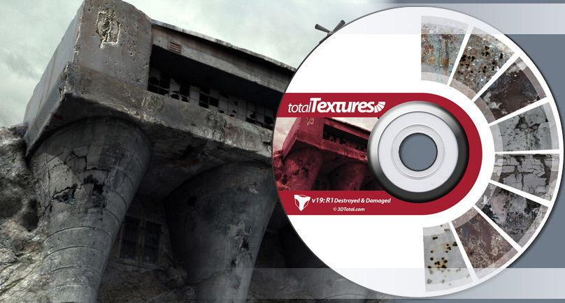 دانلود تکسچر متریال آسیب دیده تخریب شده بازی سازی یونیتی آنریل انجین Total Textures