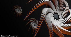 آموزش فارسی موگراف سینما فوردی : موشن گرافیک سه بعدی Cinema 4d Mograph