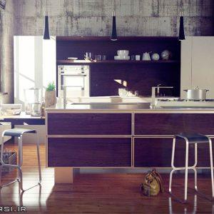دانلود رایگانآبجکت کابینت آشپزخانه ویری تری دی مکسVray 3ds max