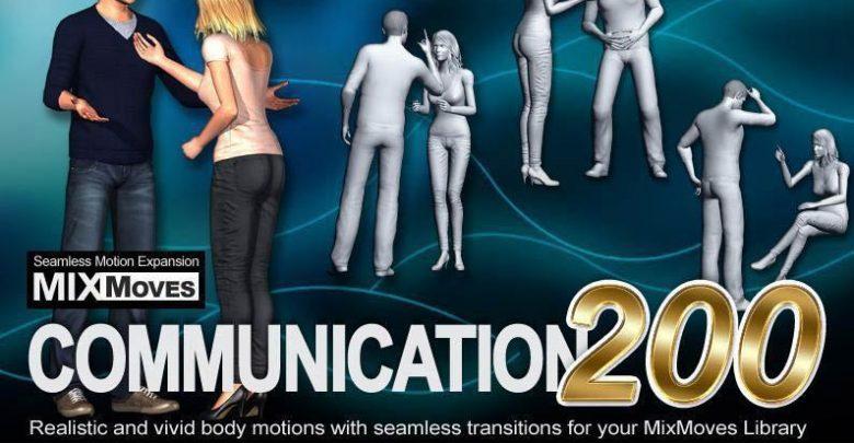 دانلود اطلاعات موشن حرکت کاراکتر انسان هوشمندiClone Motion Pack MixMoves