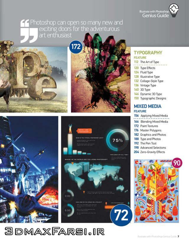 دانلود مجله آموزش طراحی در فتوشاپ
