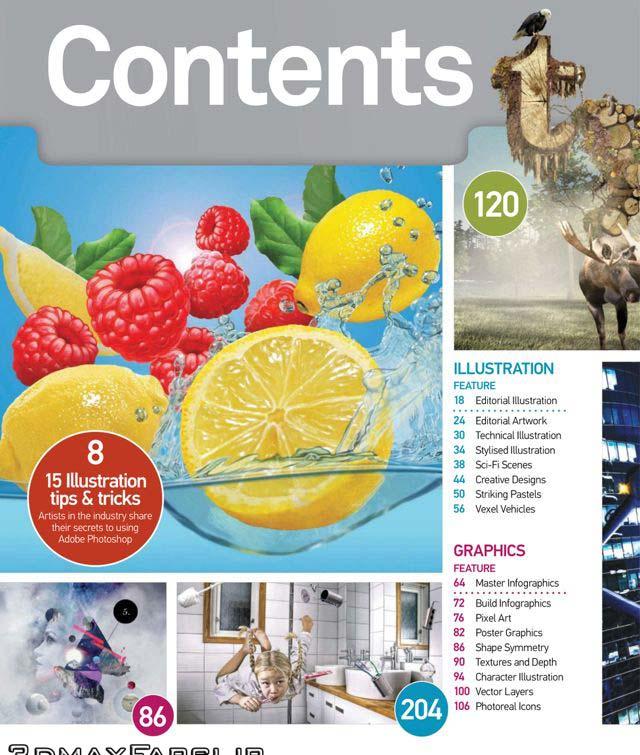 دانلود رایگان مجله آموزش طراحی در فتوشاپ با کیفیت فوق العاده بالا