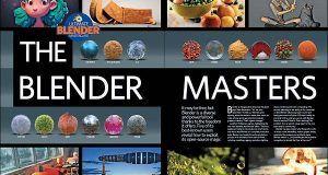 دانلود مجله نرم افزار بلندر 3D Artist issue 92 Blender