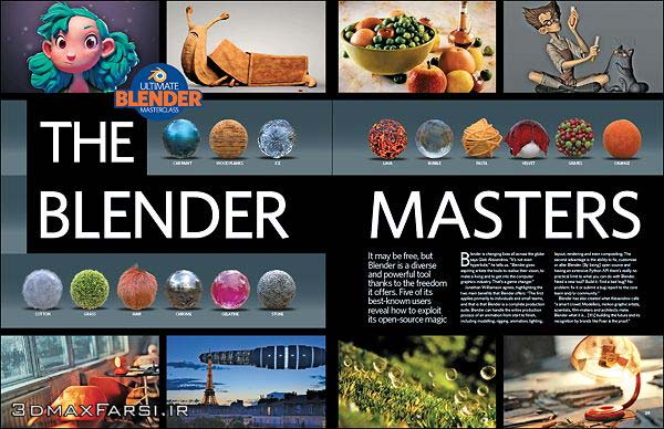 Photo of دانلود رایگان مجله Blender : شرکت تریدی آرتیست 3D Artist – Issue 92