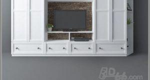مدل سه بعدی ست میز تلویزیون 3Darcshop - TV & Media Furniture 01-114