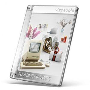 دانلود رایگان آبجکت صحنه داخلی ویری تری دی مکسViz-People 3D Home Gadgets