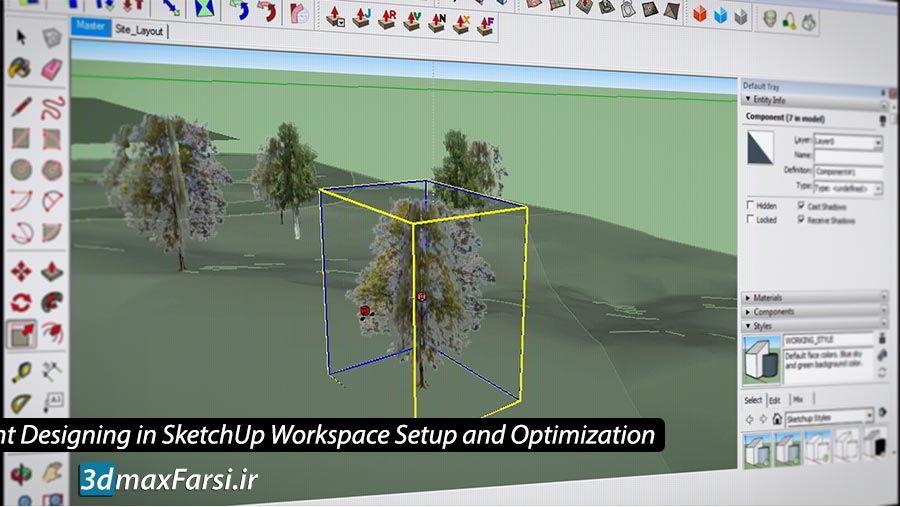 Photo of آموزش طراحی سه بعدی اسکچاپ : مدلسازی بهینه پروژه های معماری