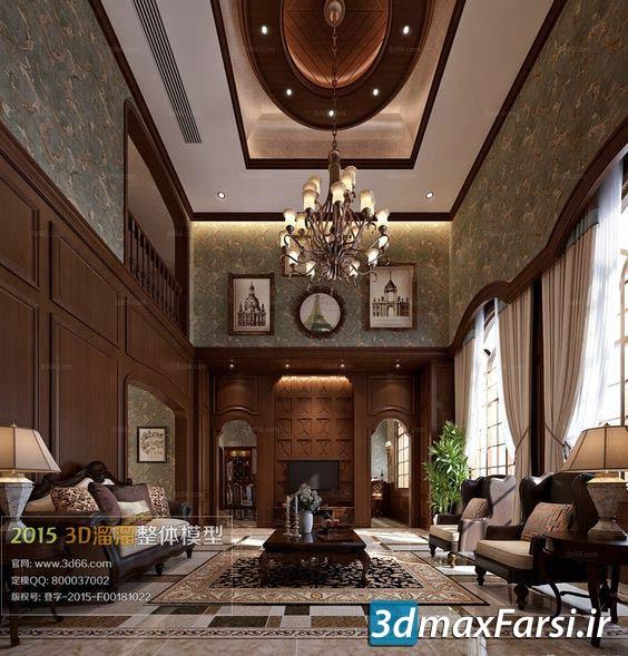 دانلود رایگان آبجکت مبلمان کلاسیک برای تری دی مکسOumoo Furniture B Collection 1