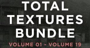 خرید تکسچر متریال توتال تکسچر total textures : سنگ چوب شیشه بتن فلز کاغذ دیواری