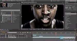 آموزش کار با لایه های افترافکت در تایم لاین After Effects layers on timeline
