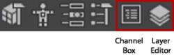 autodesk maya Channel Box
