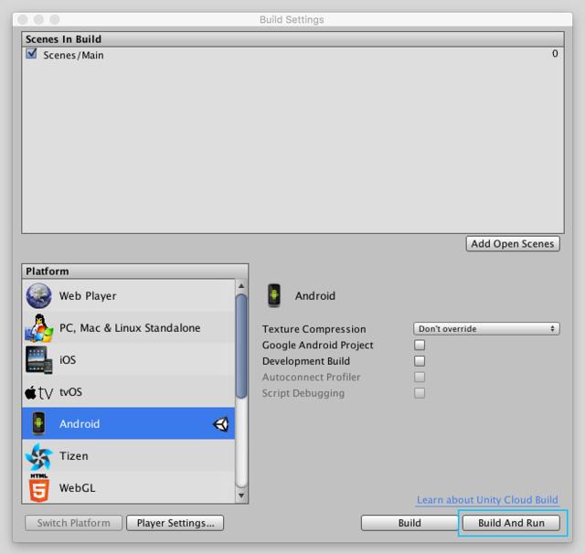 آموزش خروجی بازی یونیتی برای موبایل اندروید Unity 3d Game Android