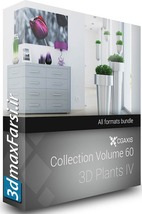 CGAxis Models Volume 60 3D Plants IV Vray 3ds max