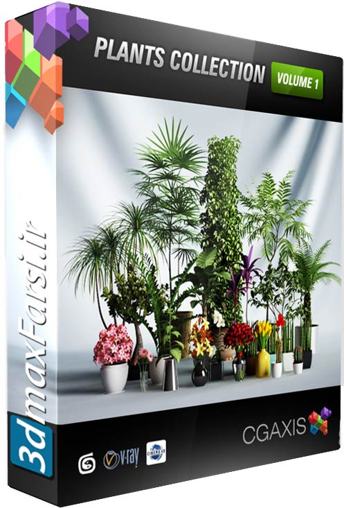 CGAxis Models Volume 1 Plants 3ds amx Vray