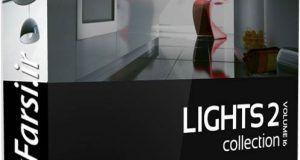 دانلود آبجکت چراغ خواب و آباژور تری دی مکس ویریCGAxis Models Lights II