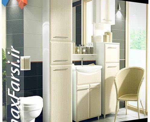 دانلود رایگان آبجکت سرویس بهداشتی تری دی مکس ویری CGAxis Models Volume 2 Bathrooms