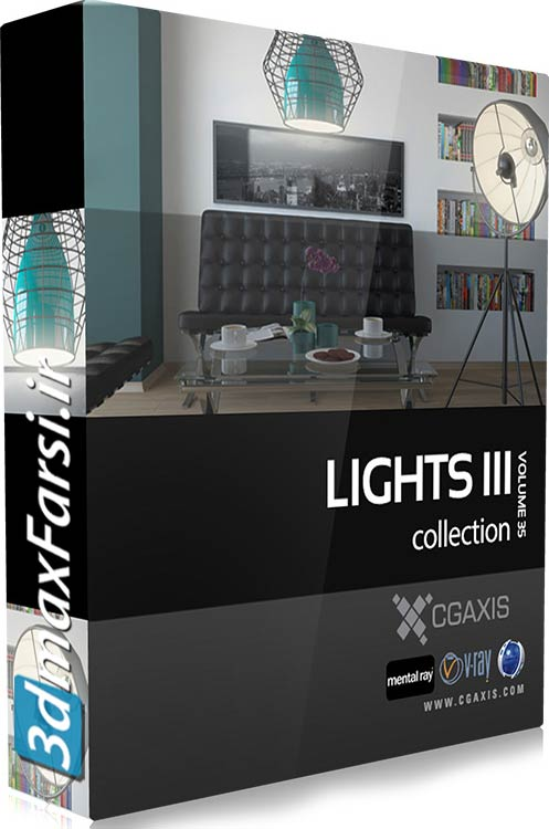 Download CGAxis Models Volume 35 Lights III