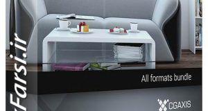 مدل سه بعدی فرنیچر مدرن تری دی مکس ویریCgaxis Models Furniture IV
