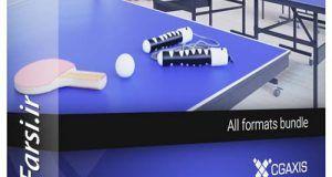 مدل سه بعدی آمادهوسایل لوازم ورزشیCgaxis Models Sport Equipment
