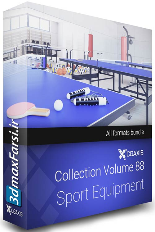 CGAxis Models Volume 88 Sport Equipment vray 3ds max free download