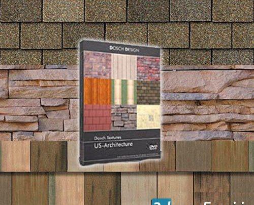 تکسچر پرکاربرد معماری Dosch Design - Textures US Architecture