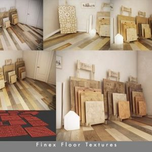 دانلود تکسچر پارکت با روزلوشن بالا Finex Floor Textures