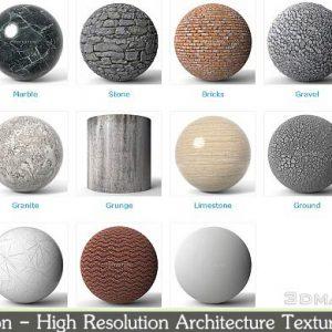 دانلود رایگان کالکشن تکسچر Poliigon - High Resolution Architecture Textures 3K