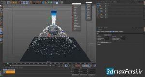 آموزش شبیه سازی مایعاتfluid simulations RealFlow Cinema-4D