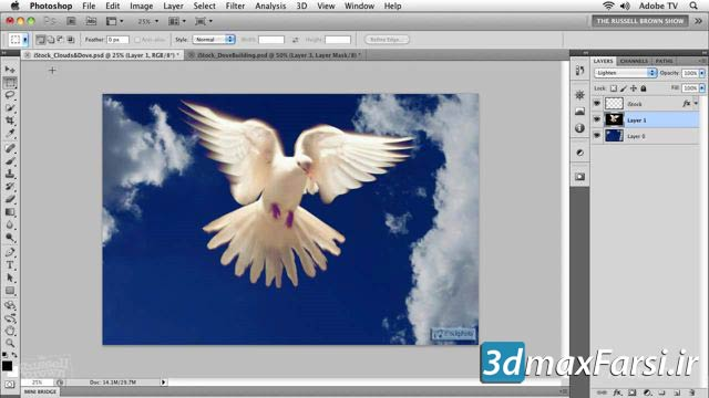 سلکشن و ماسکینگ مجیک فتوشاپ Selections Masking Magic Photoshop